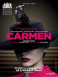 Affiche de Carmen (Royal Opera)