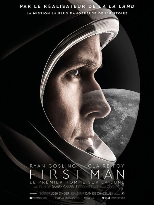 Affiche de First Man - le premier homme sur la Lune