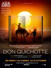 Affiche de Don Quichotte (Royal Opera House)