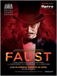 Affiche de Faust (Royal Opera House)
