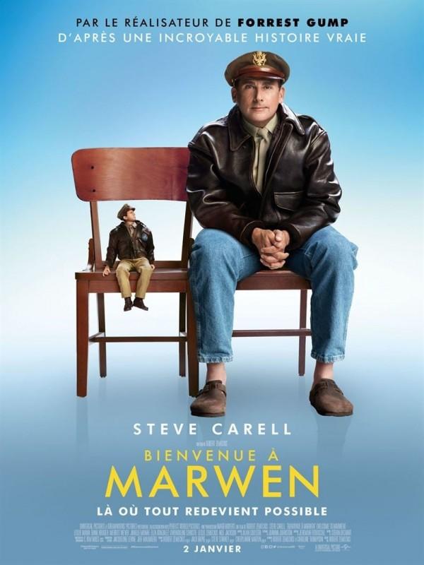 Affiche de Bienvenue à Marwen