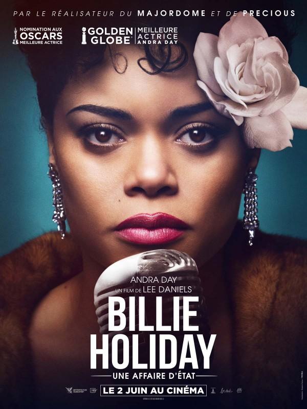 Affiche de Billie Holiday, une affaire d'état