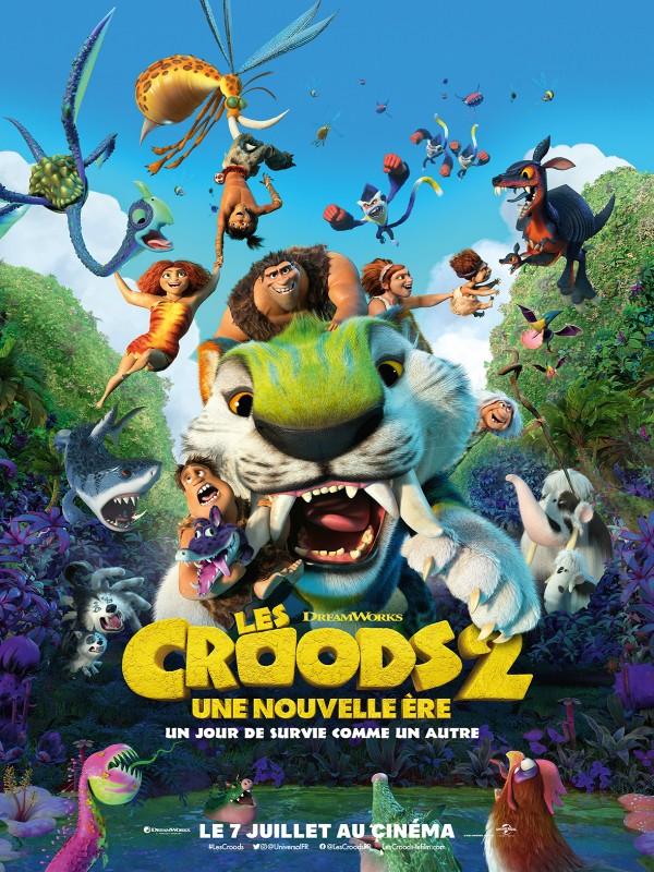 Affiche de Les Croods 2 : une nouvelle ère