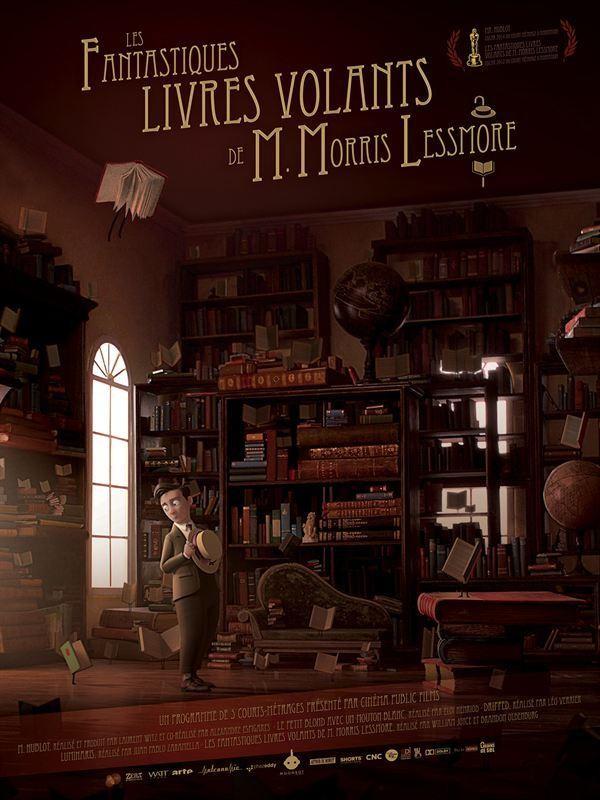 Affiche de Les Fantastiques livres volants de M. Morris Lessmore