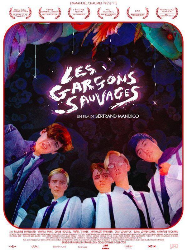 Affiche de Les Garçons sauvages