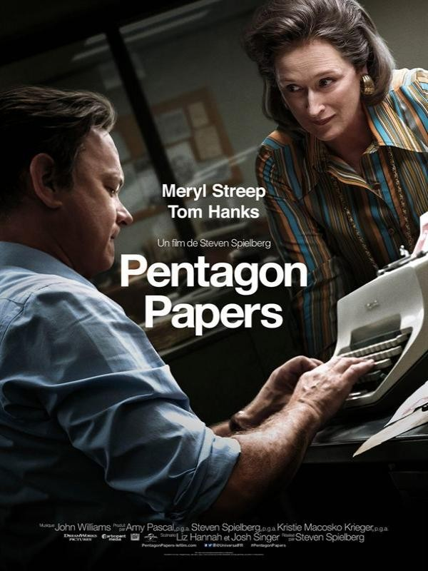 Affiche de Pentagon Papers
